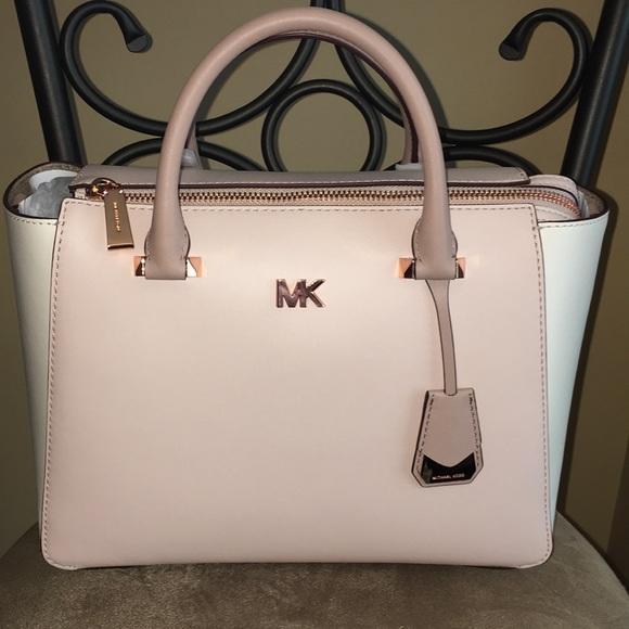 1f5773b81a56ef Michael Kors Bags   Soft Pink Nolita Medium Satchel   Poshmark